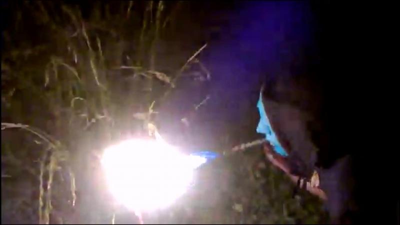 Сделал маску плюющиеся огнём