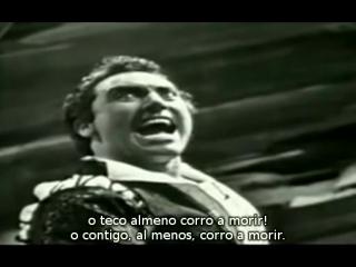 Mario Del Monaco - Di quella Pira de Il Trovatore de Verdi (subtítulos español e italiano)
