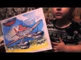 Рисуем песочком, собираем пазлы из мультфильма Самолеты
