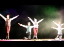 Шоу под дождём Живу тобой в исполнении Театра танца Искушение. Ростов. Театр Г ...