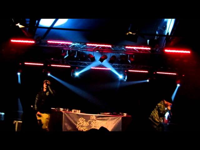 ENSI TUTTI CONTENTI FEAT SALMO LIVE @ LEONCAVALLO MILANO ETUS 21-12-2012