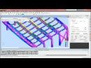 Расчет пространственной металлоконструкции в Robot Structural Analysis.