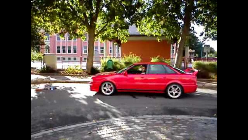 Audi 80 Competition 16v with 8x18 ET35 (5x112)