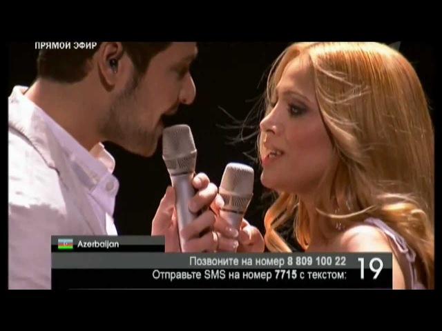 Eurovision 2011 Final - Azerbaijan- Ell Nikki - Running Scared