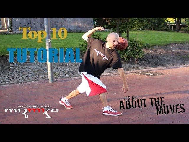 Top10 Streetball Basketball Tricks Moves TUTORIALS