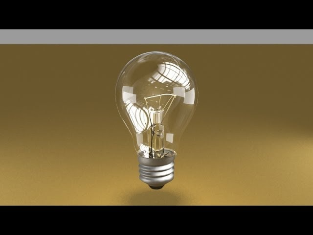 3ds max Tutorial: Light Bulb Modeling part 1