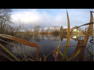 Полесский канал. Рыбалка поздней осенью.