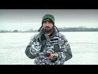 Не дорогие зимние удочки для ловли на балансир видео