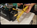 Unboxing Setup Power Supply BitMain AntMiner S5 - BitCoin