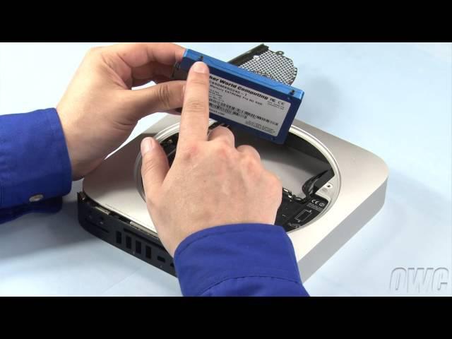 Mac mini Mid 2011 Hard DriveSSD Installation Video