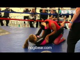 Alanna Olive-Smith vs Melissa Meggiolaro Nogi Bear Women's No-Gi Tournament 2014