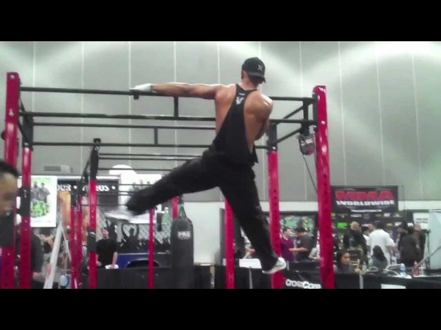 Bodyweight Fitness Take over La Fit Expo