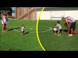 Lionel Messi feliz y en familia: los primeros pasos de su hijo Mateo