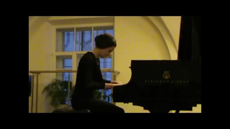 Р. Шуман, Allegro h-moll, op.8 (R. Schumann)