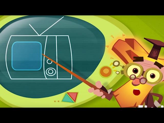 История вещей Телевизор обучающие мультики детям