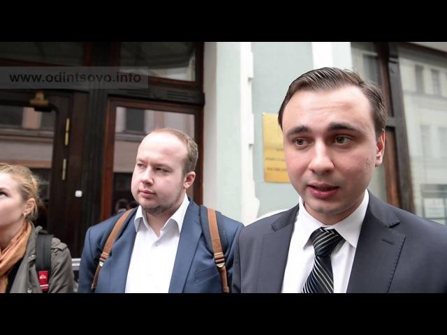 Интервью Ивана ЖДАНОВА и Георгия АЛБУРОВА по поводу выборов в Барвихе