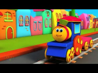 The Alphabet the Train - FULL CARTOON - (Learn letters and words)