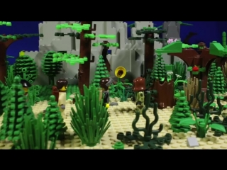 Сталкер   2 серия лего мультфильм - S.T.A.L.K.E.R. 2 lego stopmotion film