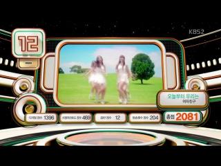 160108 IU, Taeyeon(SNSD),davichi,EXO,BTS,GOT7,EXID,GFriend,Lovelyz 뮤직뱅크 K CHART 20위 11위 (IU아이유 15위)