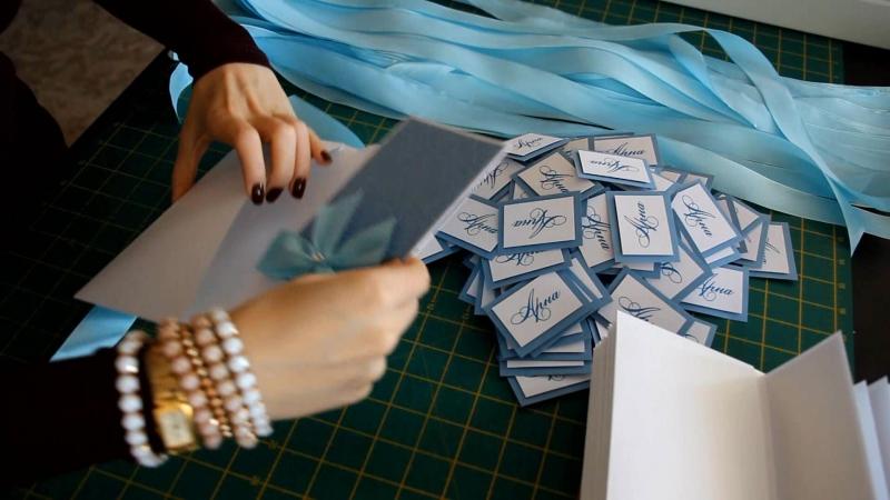 Создание пригласительного от студии Горностай The invitation by Gornostay studio