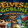 Elves vs Goblin Mahjongg World Game