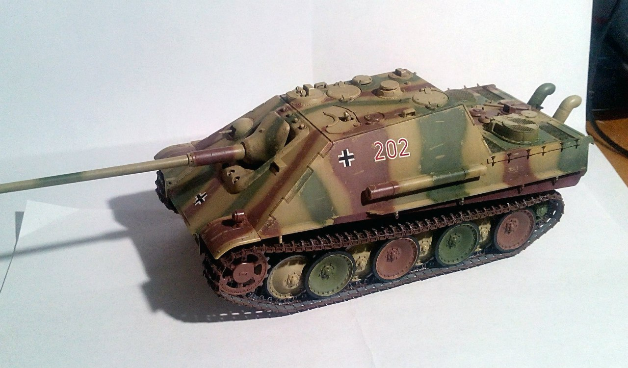 Jagdpanther (Late\поздний вариант) (Tamiya 35203 1/35) 9hoZJkgq-jc