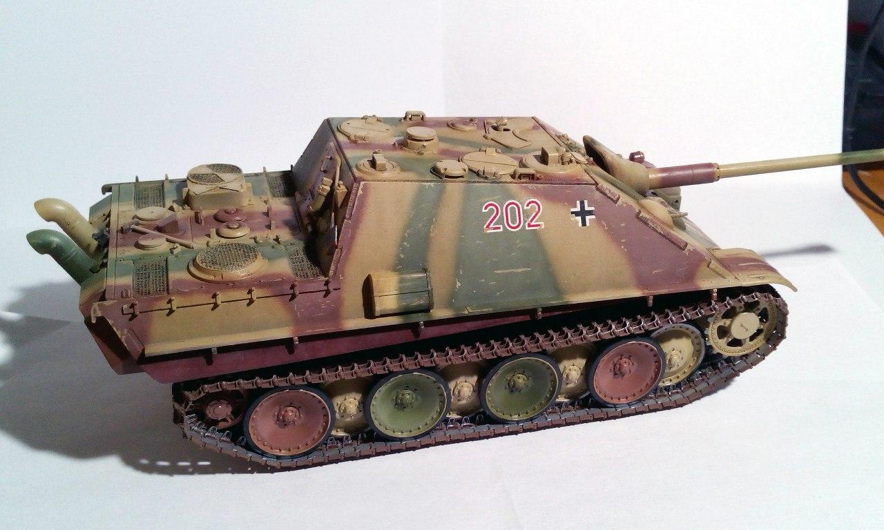 Jagdpanther (Late\поздний вариант) (Tamiya 35203 1/35) JkVW6e9pPSE