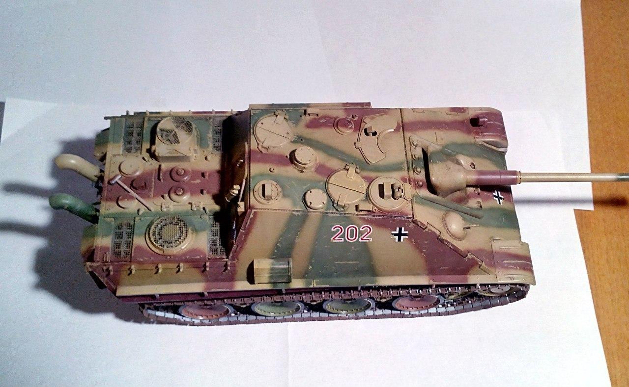 Jagdpanther (Late\поздний вариант) (Tamiya 35203 1/35) HwQyv41R8A8