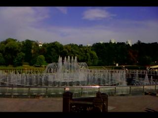 Поющие фонтаны в парке Царицыно