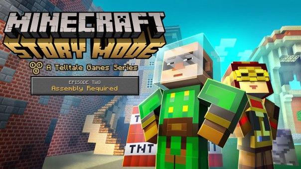 Скачать Minecraft Story Mode через торрент