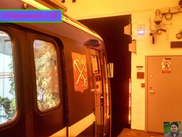 Метрополитен 2 поездка на Метросоставе ''Юбилейный'' От ст.М.Рыбацкое До Ст.М. Гостинный Двор