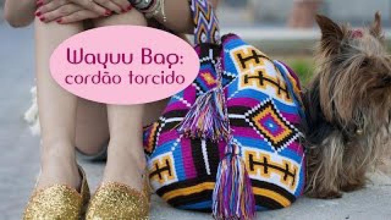 Wayuu bag: cordão torcido (parte 4)