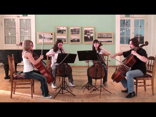 Metallica The Unforgiven CELLISSIMO Quartet Novosibirsk