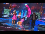 Kalomira Sarantis - Secret Combination (Eurovision 2008 - Greece) Broadcasting by ERT-Greece