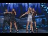 Charlotte Perrelli - Hero (Eurovision 2008 - Sweden) Broadcasting by ERT