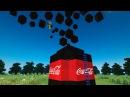 10 000 ЛИТРОВ КОКА КОЛЫ МЕНТОС В МАЙНКРАФТЕ БЕЗ МОДОВ 10 000 liters of Coca Cola in MINECRAFT