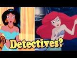 Jasmine And Ariel Detectives video game for girls. Disney pirincesses dress up game HD
