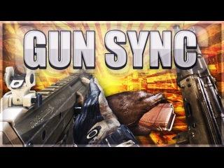 ♪ MONSTA - Holdin' On Skrillex amp Nero Remix ♪ Gun sync (CoD Black Ops 2)