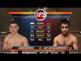 Россия vs Таджикистан.Azam Gaforov(TJK) vs Matlab Allahverdiev(AZE,RUS).OFS-4