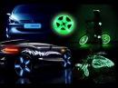 Светящиеся диски для автомобиля. Тюнинг автомобиля светящимися красками.