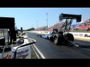 NHRA 8000 HP Top Fuel Dragster at the Starting Line