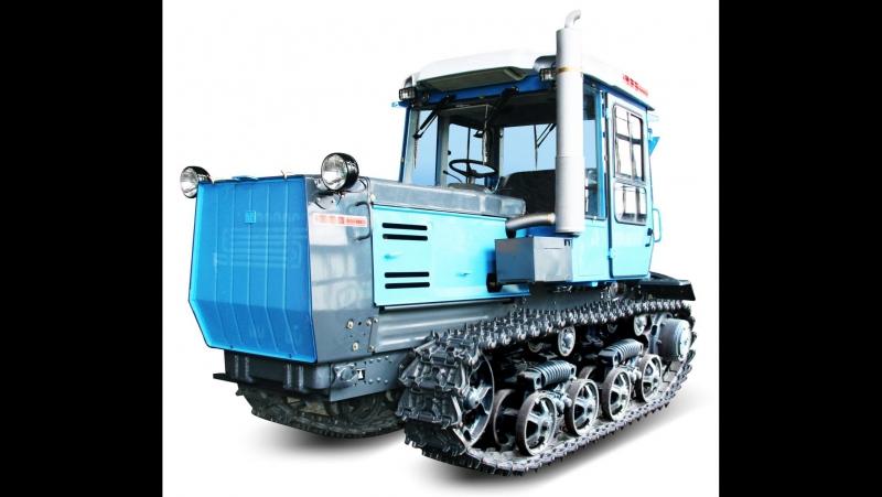 Культивация зябы трактором ХТЗ. The cultivation of plowed fields tractor HTZ