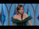 Рэйчел Блум «Чокнутая бывшая» Лучшая актриса в комедийном сериале - Вручение премии - Золотой глобус 2016
