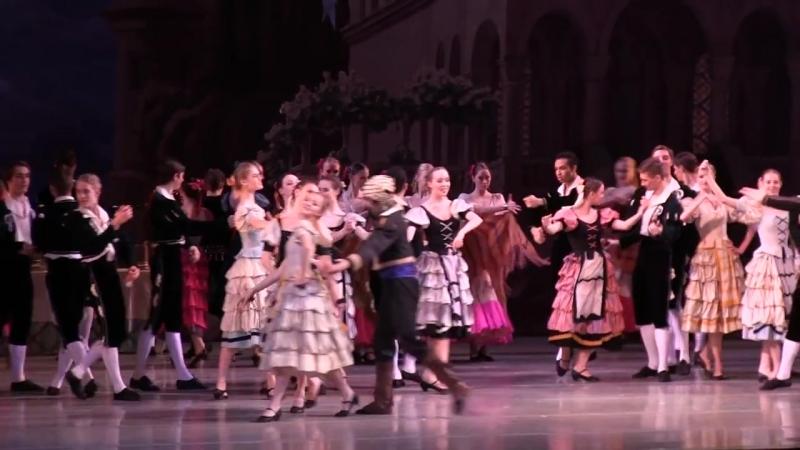 сюита из балета ЛАУРЕНСИЯ (фрагм) АРБ, генеральная реп. Рената Шакирова Герман Борсай