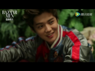 [VIDEO] 160715 Luhan @ Bazaar Men x Tudor Photoshoot BTS