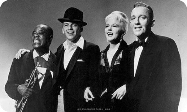 Легенды американского джаза — Луи Армстронг, Фрэнк Синатра, Пегги Ли, Бин Кросби...