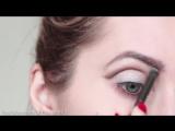Вечерний макияж на вечеринку 2016 ★ Подводка со стрелками, яркий кошачий глаз