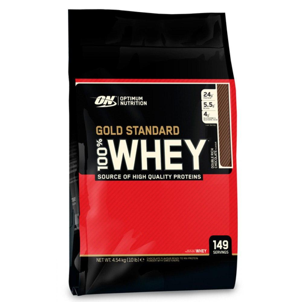 optimum nutrition 100 whey gold standard 4.54 кг