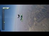 Прыжок без парашюта с высоты 7500 метров с приземлением на сетку