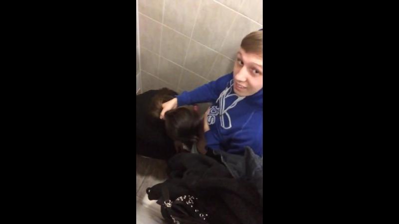 Сычёву снова трахнули в туалете (русское порно, домашнее, инцест, пьяные, студенты, изнасилование, вписка)